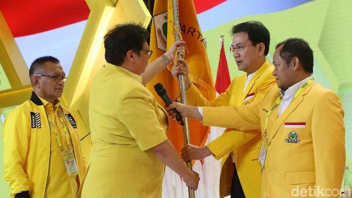 Airlangga Hartarto terpilih sebagai Ketua Umum Golkar secara aklamasi (Foto: Agung Pambudhy)