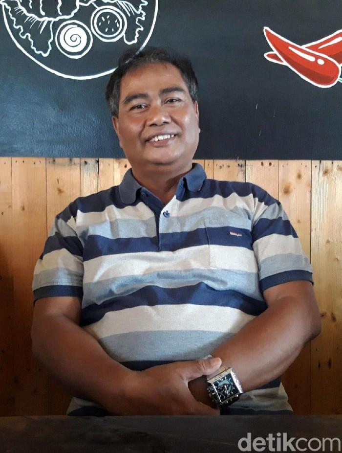 Wakil Ketua Bidang Pemenangan Pemilu Golkar Boyolali, Ismail, Kamis (5/12/2019). (Ragil Ajiyanto/detikcom)