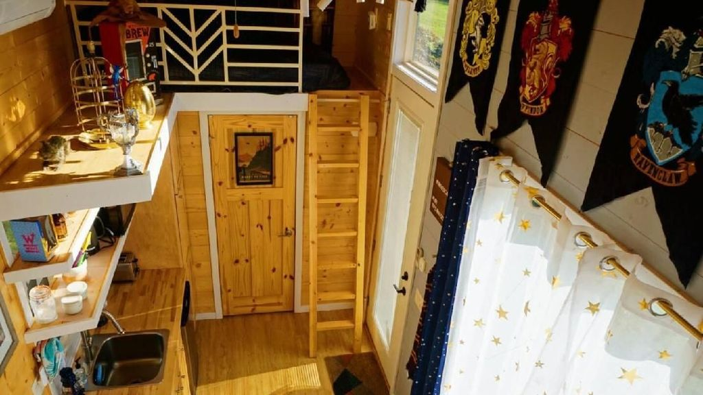 Potret Rumah yang Bisa Disewa Para Fans Harry Potter