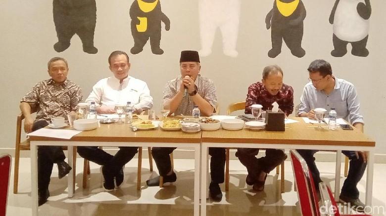 Diskusi rencana aksi komite Geopark Karangsambung Karangbolong (Rinto Heksantoro/detikcom)