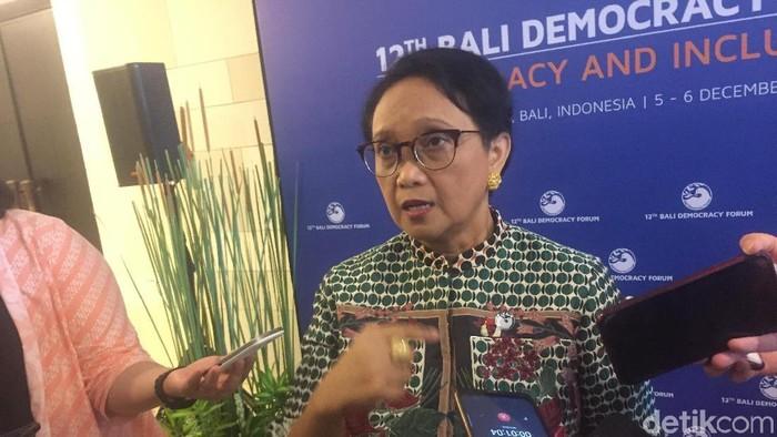 Menteri Luar Negeri Retno Marsudi (Ibnu/detikcom)