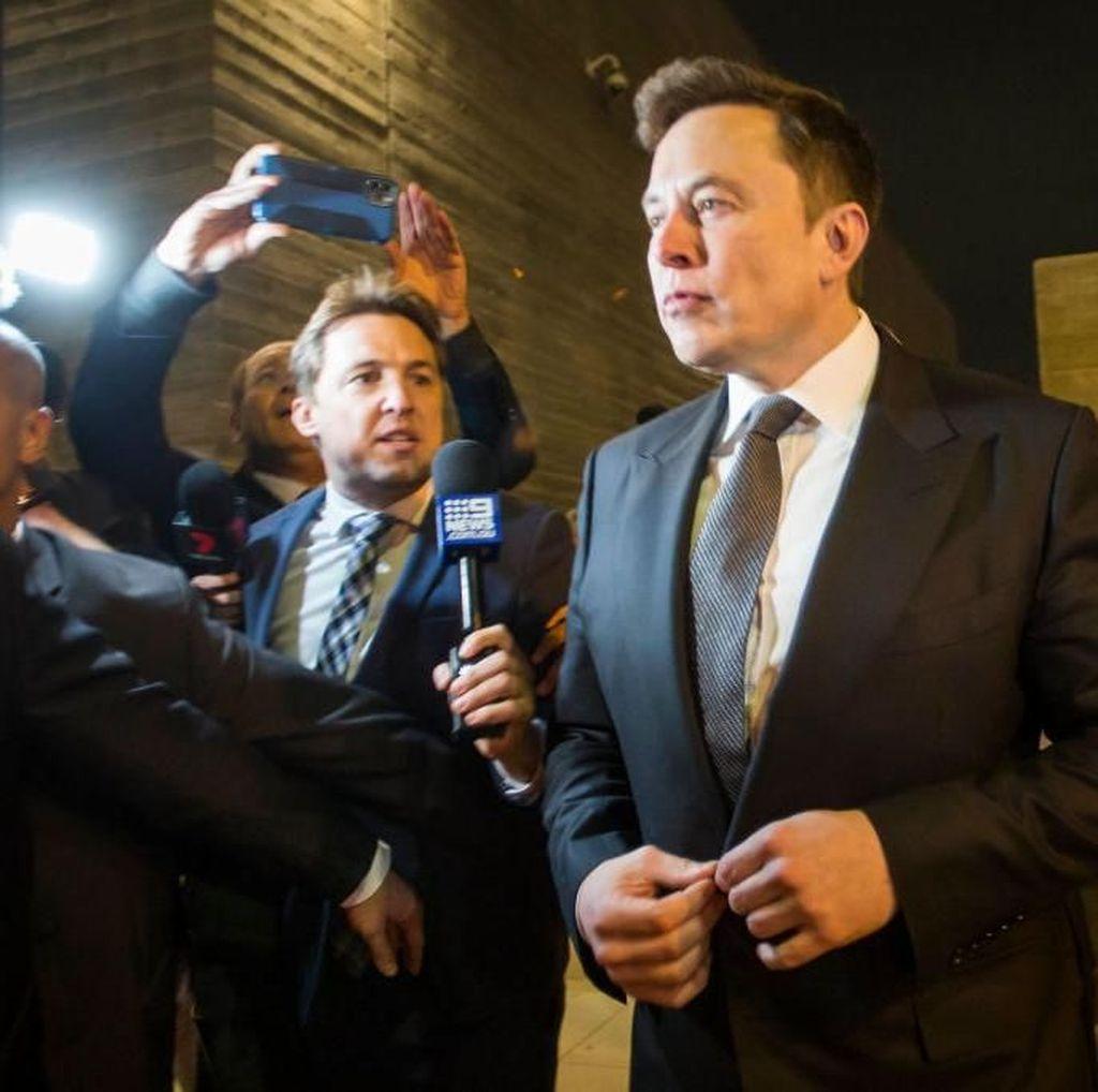 Ditanya Berapa Duitnya, Elon Musk Kebingungan