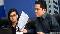 Erick Thohir dan Sri Mulyani Mau Bentuk 6 Holding BUMN Tambahan