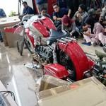 Harley Ilegal Dibawa Garuda Tak Bisa Servis di Bengkel Resmi