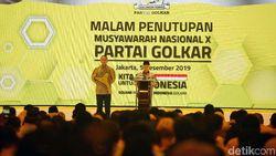 Tutup Munas Golkar, Maruf Amin Bersyukur Acara Berjalan Lancar
