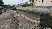 Tanggul Kali Cakung Jebol, Wawalkot Bekasi: Tambal Pakai Karung Pasir