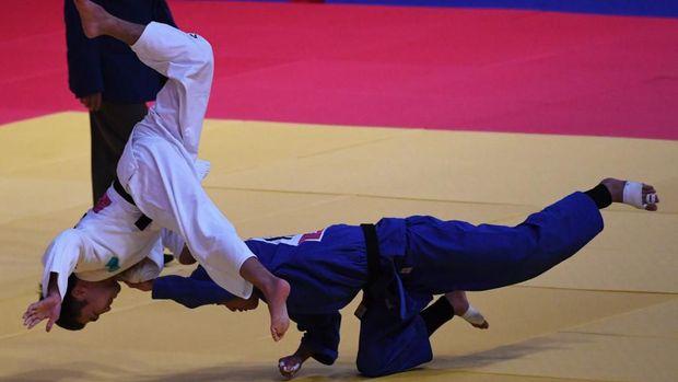 Ilustrasi judo.
