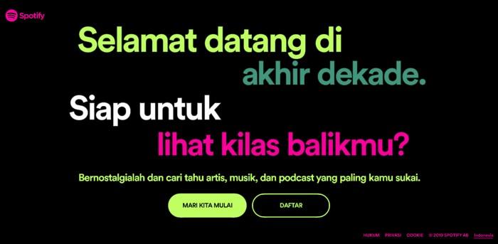 Spotify Wrapped. Foto: Spotify