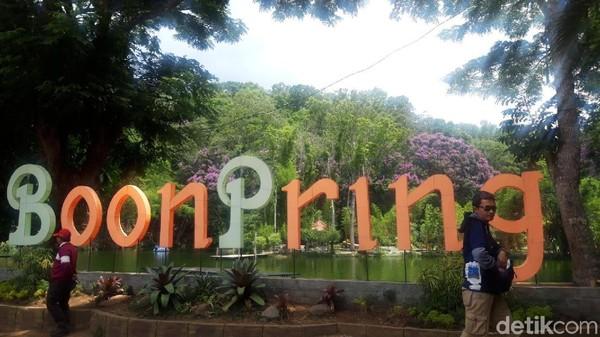 Fasilitas di Boon Pring terbilang cukup lengkap. Sangat cocok untuk lokasi liburan keluarga. (Hilda Meilisa/detikcom)