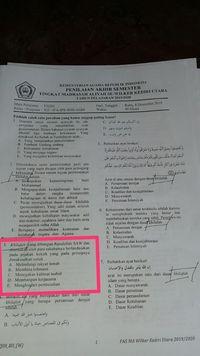 Migrasi Khilafah di Mata Pelajaran Madrasah