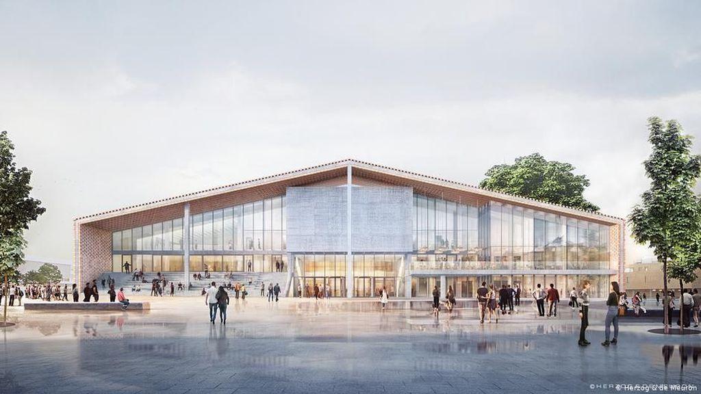 Desainnya Sempat Picu Kontroversi, Pembangunan Museum Seni di Berlin Dimulai