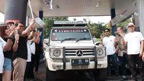 Komunitas Mercedez-Benz Cilegon Touring ke Yogyakarta