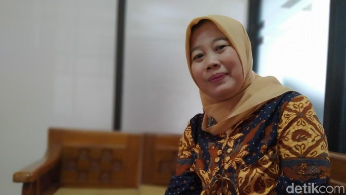Ketua KPU Klaten Kartika Sari Handayani (Achmad Syauqi/detikcom)