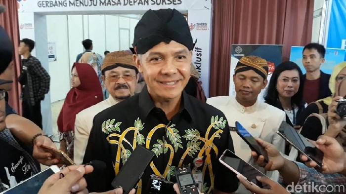 Gubernur Jateng Ganjar Pranowo (Bayu Ardi Isnanto/detikcom)