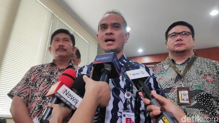 Foto: Wakil Kepala BPRD DKI Jakarta, Yuandi Bayak Miko. (Alfons-detikcom)