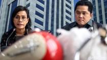 Sri Mulyani-Erick Thohir Beberkan Pemilik Harley di Pesawat Garuda