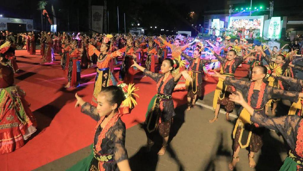 Festival Budaya Nusantara III di Tangerang Meriah dengan Tari Kolosal