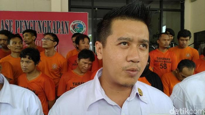 Kasat Narkoba Polres Bogor AKP Andri Alam (Sachril/detikcom)