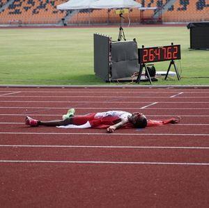 Maraton Putra Indonesia Sumbang Emas Pertama Hari Ini