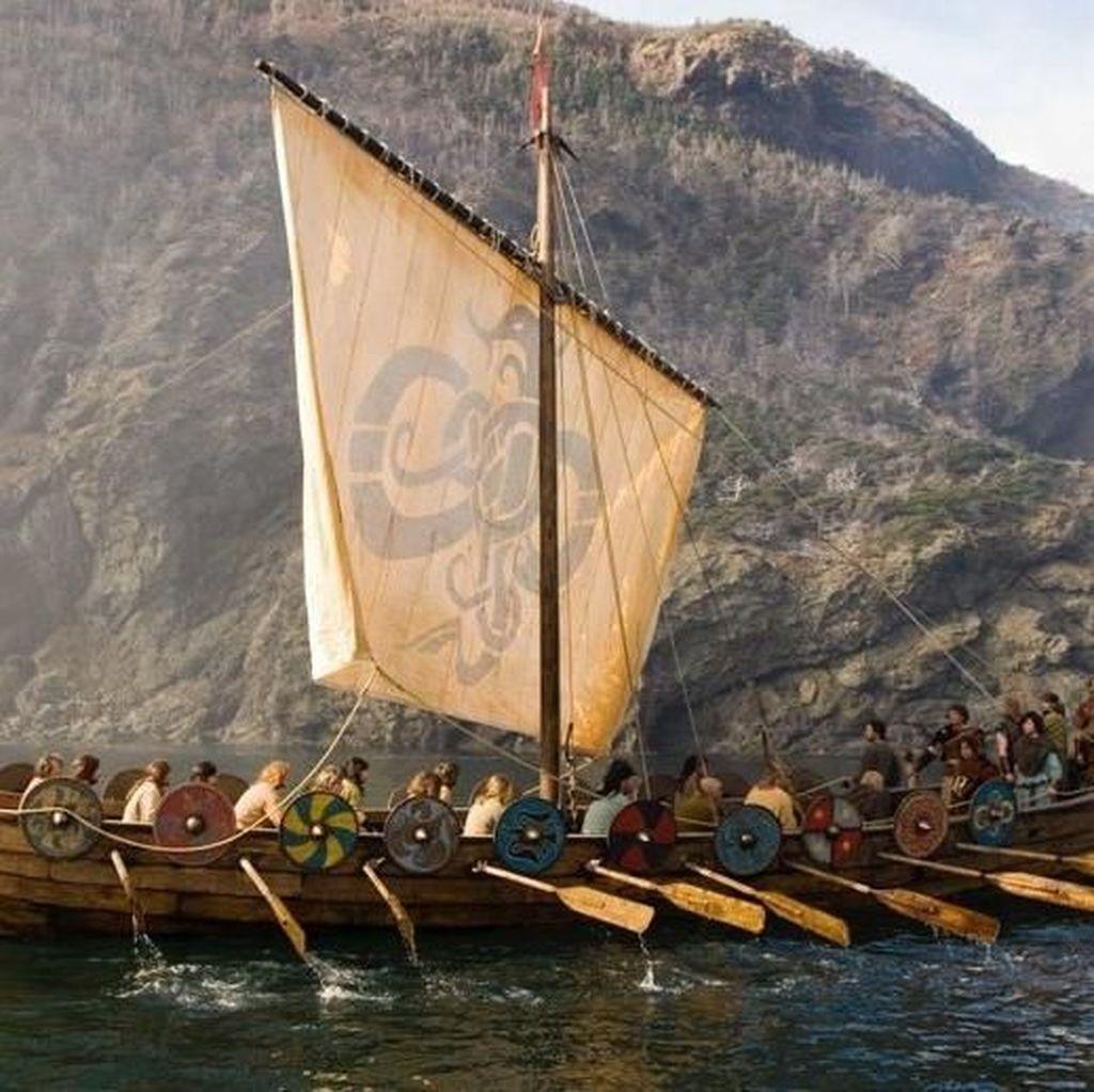 Ditemukan! Kuburan Kapal Viking Raksasa di Desa Norwegia