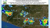 Peringatan Dini BMKG: Potensi Hujan-Angin Kencang di DIY Sore Ini