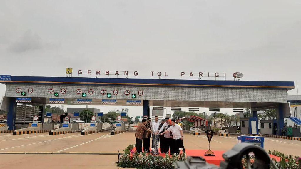 Diresmikan Jokowi, Tarif Tol Kunciran-Serpong Masih Dihitung