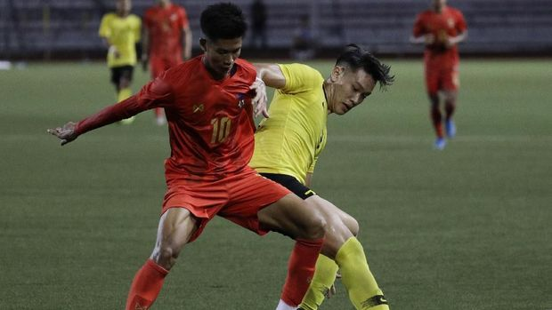 Myanmar sukses menjadi juara Grup A SEA Games 2019.