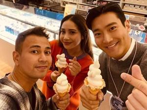 Setelah Traktir RANS dengan Es Krim, Siwon Choi Minta Traktir Martabak