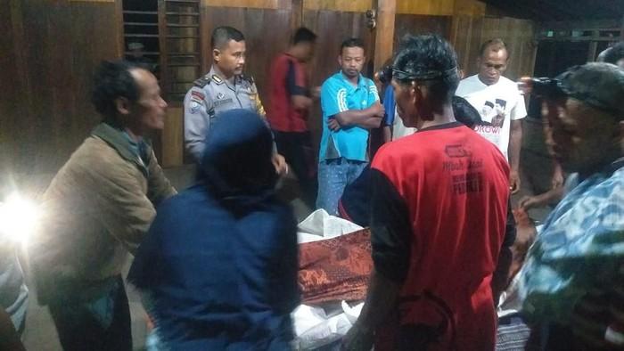 Bocah yang dua hari hilang tenggelam ditemukan tewas di Grobogan. Foto: Dok Polsek Penawangan Grobogan
