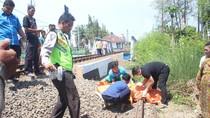 Kakek di Sidoarjo Tewas Tertabrak Kereta Usai Buang Air Besar