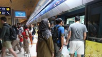 Foto: Transportasi Publik yang Nyaman di Dubai