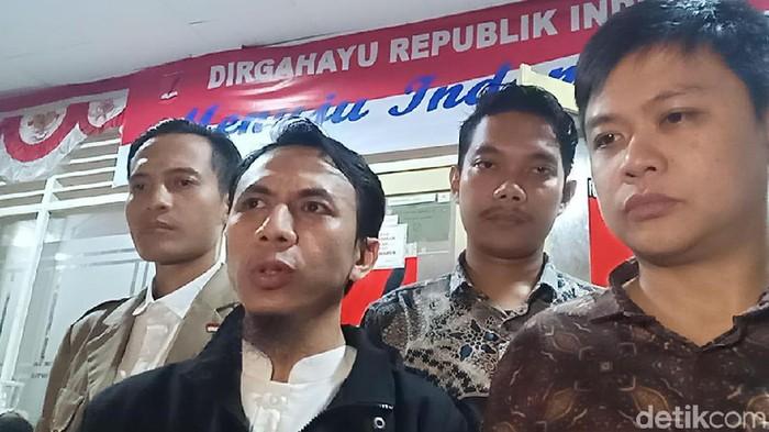 Pelapor Sukmawati. (Foto: Samsudhuha/detikcom)