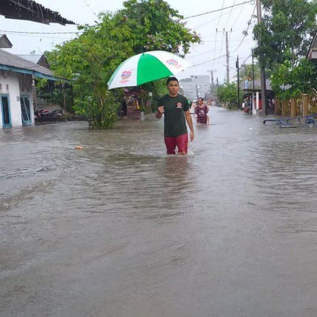 Banjir Rendam 300 Rumah di Belitung