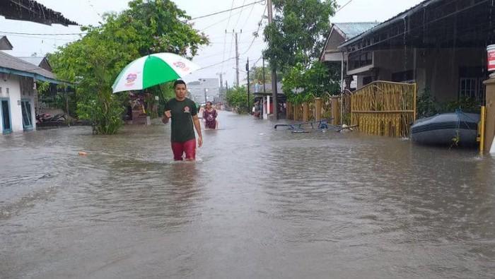 Foto: Banjir di Belitung (Antara Foto)