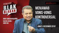 Blak-blakan Andi Samsan Nganro, Menjawab Vonis-vonis Kontroversial