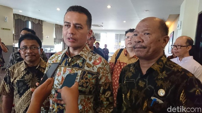 Foto: Ahmad Arfah-detikcom/ Wakil Gubernur Sumut Musa Rajeckshah (Ijeck)
