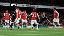 Arsenal Tertinggal 0-1 dari Brighton di Babak I