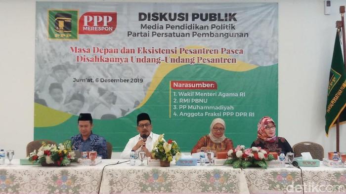 Wamenag Zainut Tauhid (Foto: Farih/detikcom)