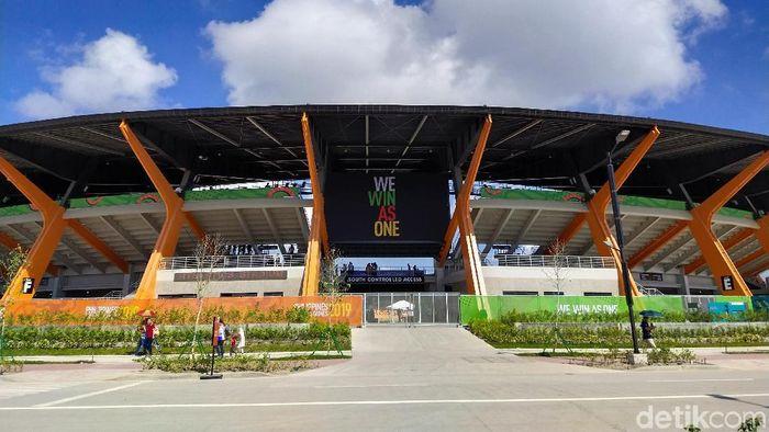 Ini dia Stadion Atletik yang bertaraf dunia di Clark, Filipina (Mercy Raya/detikSport)