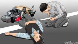 Tabrakan Moge Vs NMax di Kemayoran, Pengemudi Harley Jadi Tersangka