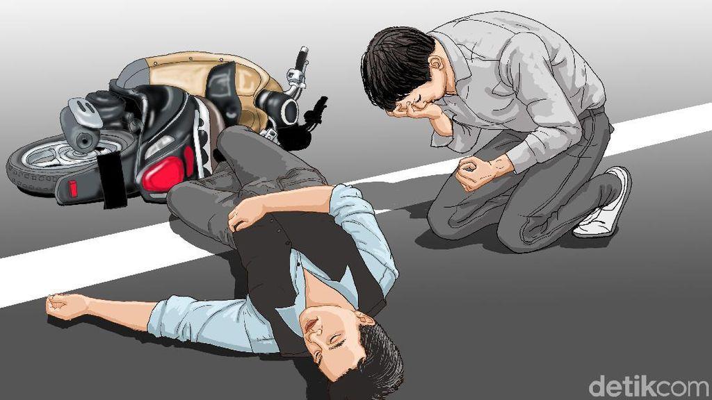 Kecelakaan di Cakung, Pengendara Motor Tabrak Pejalan Kaki hingga Tewas
