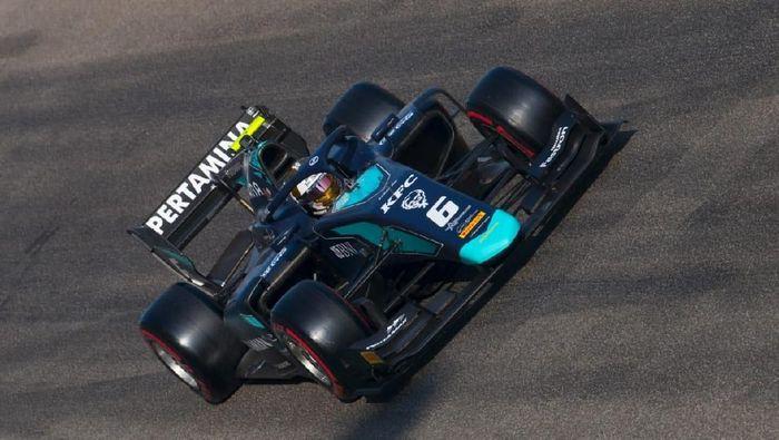 Sean Gelael finis kedelapan di hari pertama sesi tes F2 Abu Dhabi bareng DAMS (dok.Sean Gelael)