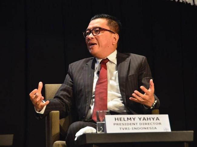 Polemik Helmy Yahya dengan Dewan Pengawas TVRI