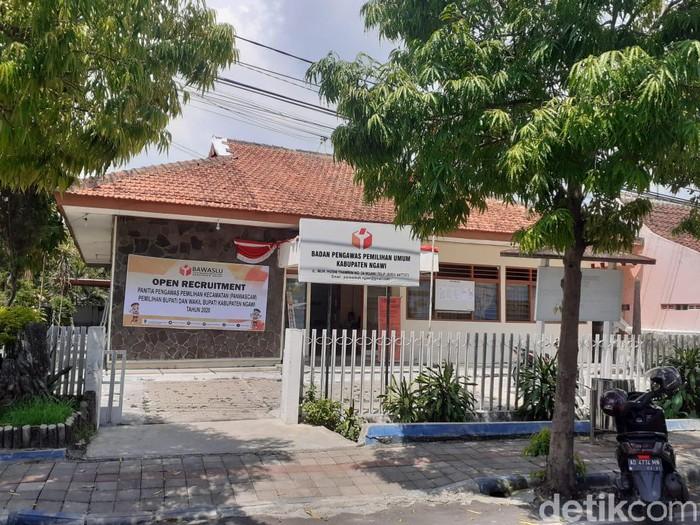 Kantor Bawaslu Ngawi (Sugeng Harianto/detikcom)