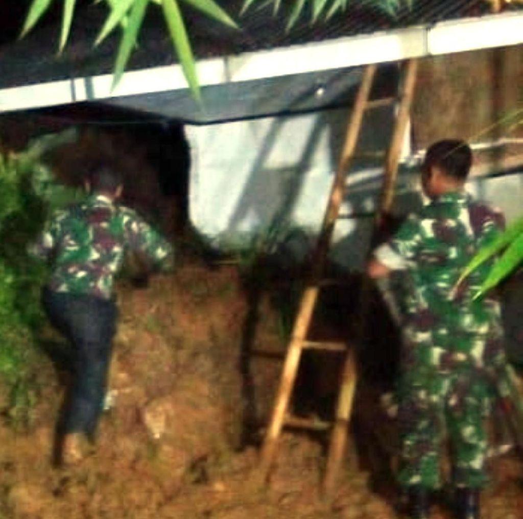 Rumah Warga di Sukabumi Tergerus Tanah Longsor, 1 Orang Tewas