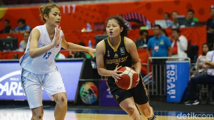 Timnas Basket Putri Kalah Lagi, Kali Ini dari Thailand