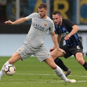 Duel Inter Vs Roma di Giuseppe Meazza