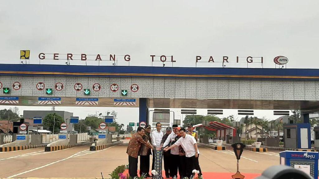 Jokowi Resmikan Tol Kunciran-Serpong 11 Km
