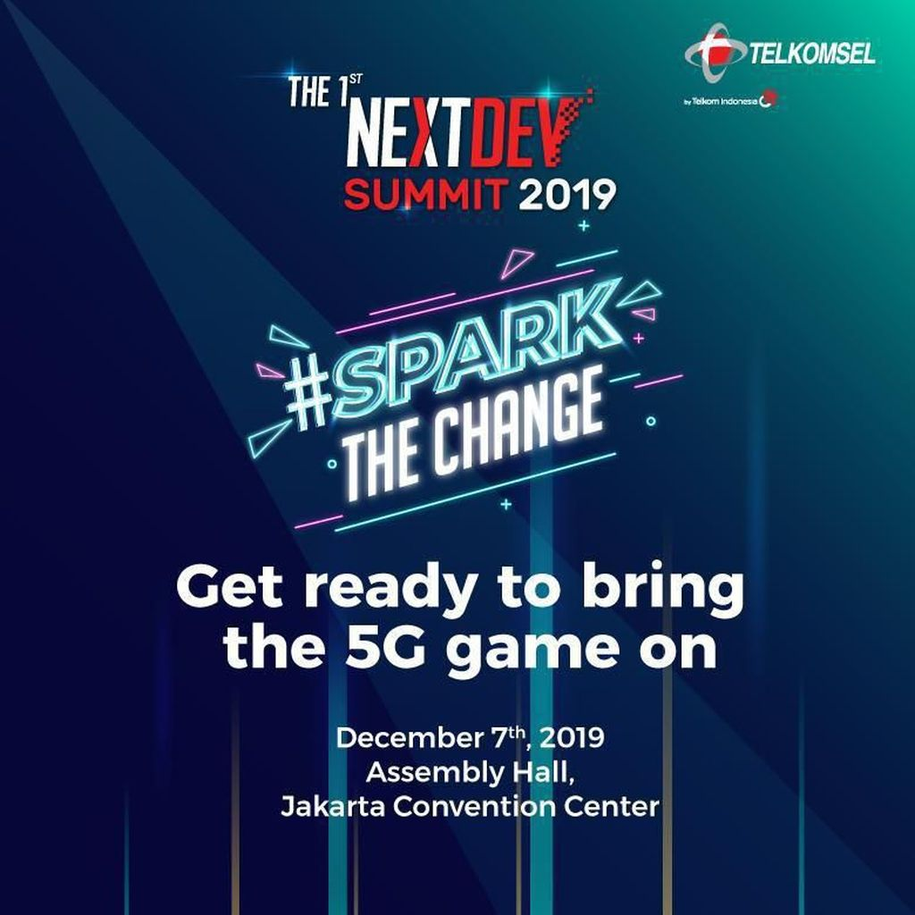 Kemeriahan Pesta Startup Telkomsel The NextDev Summit 2019