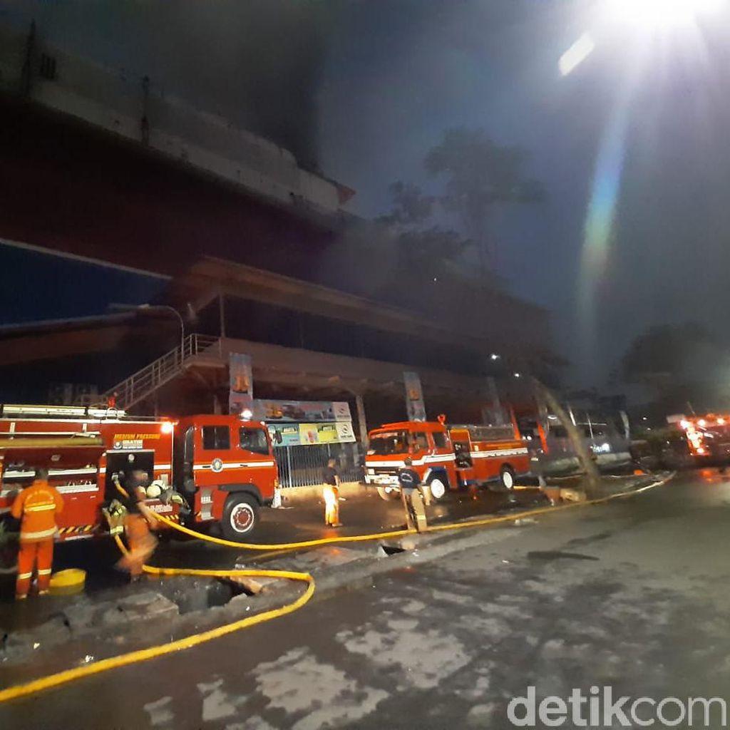 Kebakaran di Mal Lokasari Berasal dari Ruang Eks Diskotek Milles
